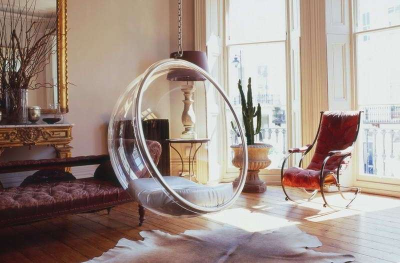 Poltrona sospesa HANGING BUBBLE CHAIR